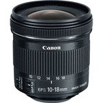 Canon Lens EF-S 10-18mm f/4.5-5.6 IS Φακός — 248€ Photo Emporiki