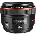 Canon EF 50mm f/1.2L USM Φακός — 1440€ Photo Emporiki