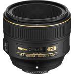 Nikon AF-S 58mm f/1.4G Φακός — 1619€ Photo Emporiki