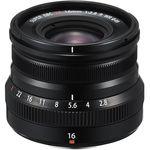 Fujifilm XF 16mm f/2.8 R WR (Black) Φακός — 418€ Photo Emporiki