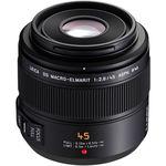 Panasonic Leica DG 45mm f/2.8 MEGA O.I.S. Macro-Elmarit ASPH. Lens — 648€ Photo Emporiki