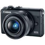 Canon EOS M200 Kit Mirrorless Κάμερα  με EF-M 15-45mm f/3.5-6.3 IS STM Φακό — 574€ Photo Emporiki