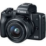 Canon EOS M50 Kit (EF-M 15-45mm f/3.5-6.3 IS STM) — 699€ Photo Emporiki