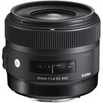 Sigma 30mm f/1.4 DC HSM Art Φακός για Nikon F Mount — 514€ Photo Emporiki