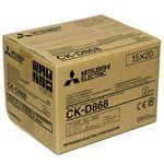 Mitsubishi CK-D868 (10x15cm Χαρτί για CP-D80DW Εκτυπωτή) — 95€ Photo Emporiki