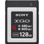 Sony 128GB XQD G Series Κάρτα Μνήμης — 239€ Photo Emporiki