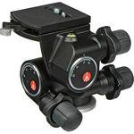 Manfrotto 410 Junior Geared Tripod Head, easy to use ergonomic knobs — 205€ Photo Emporiki